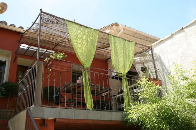 Un balcon transformé