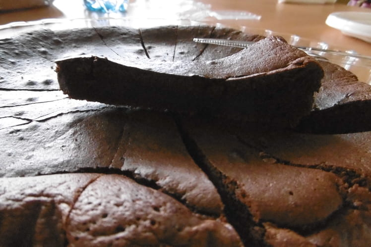 Gâteau crousti-moelleux au chocolat