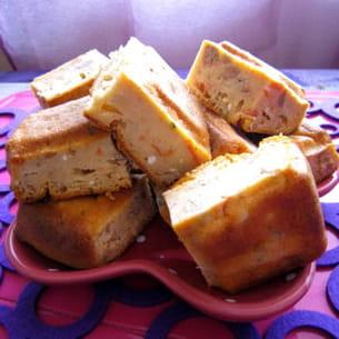 cake fondant au thon et au fromage frais