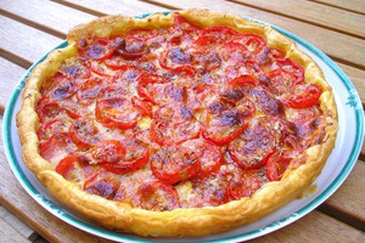 Tarte à la tomate façon Isabelle