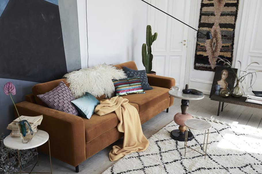 Succomber à la tendance de l'appartement-galerie, c'est permis!