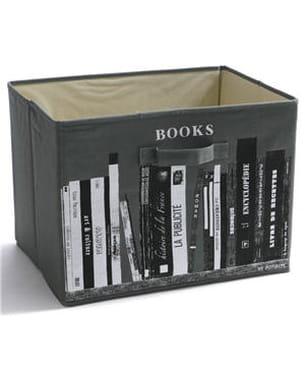 bac de rangement 'books' de potiron