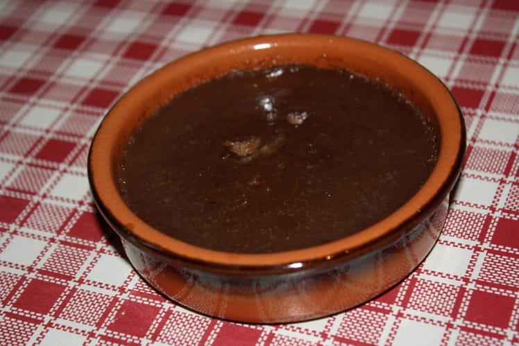 Crème brûlée au Nutella