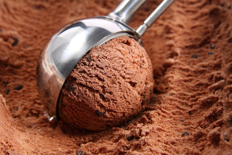 Glace au chocolat Cémoi