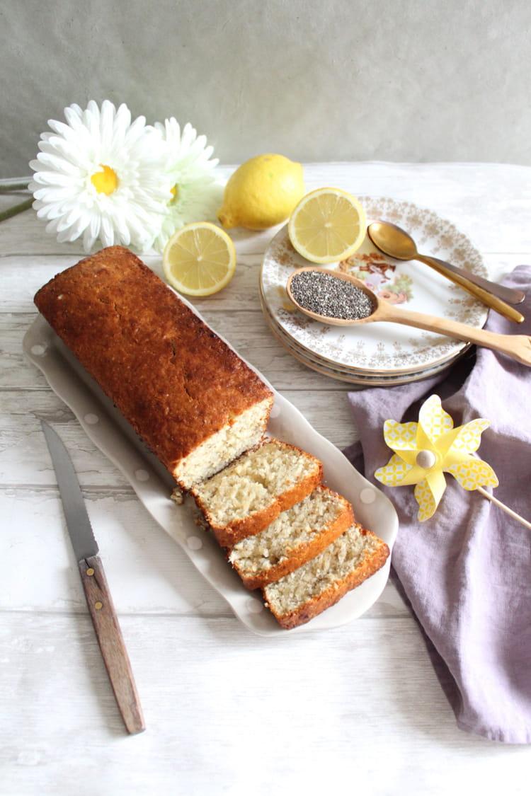 Cake Graines De Chia Citron