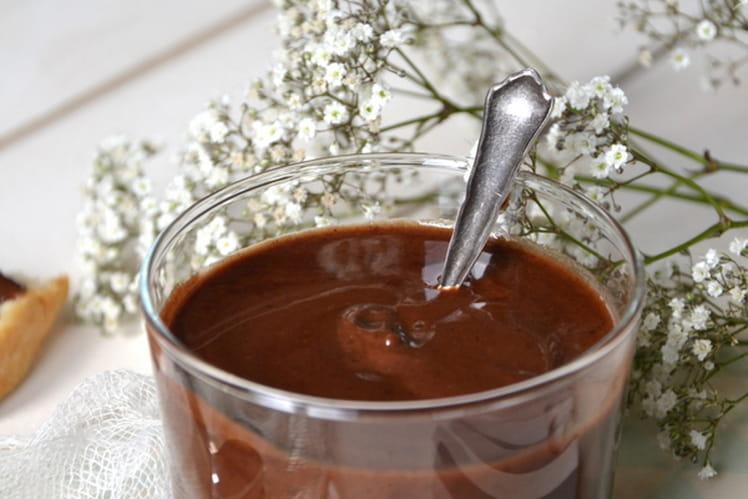 Pâte à tartiner à la poudre et au beurre de cacao cru { Vegan }