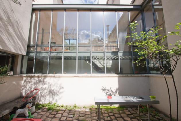 La façade vitrée