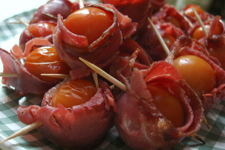 Bouchées tomates-coppa