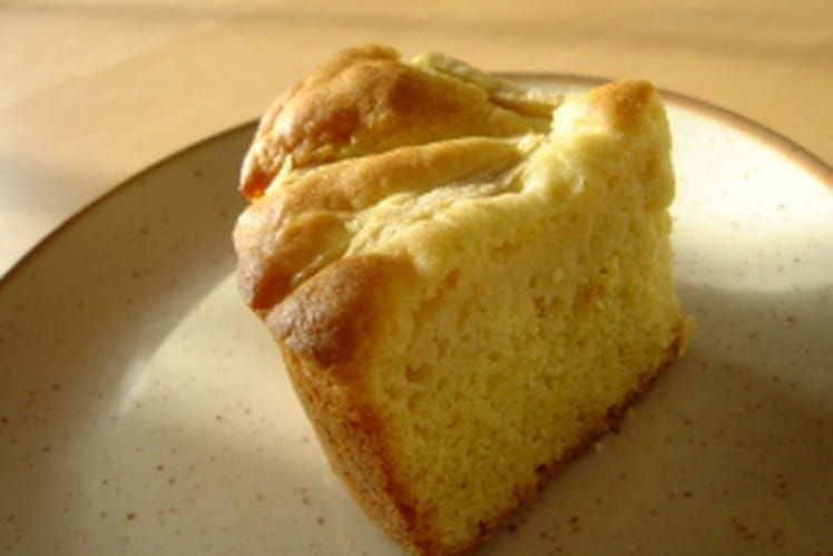 Quatre-quarts pomme-vanille
