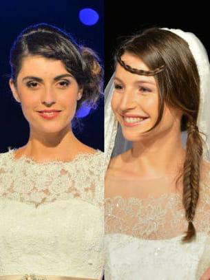salon du mariage et du pacs : les coiffures du défilé
