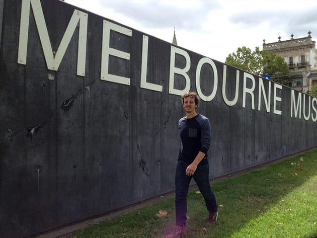 Mes premiers pas à Melbourne