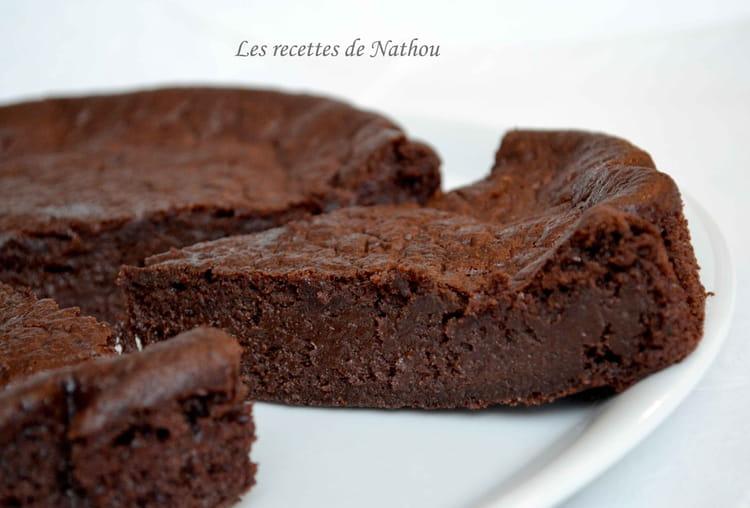 Cake Fondant Au Chocolat Banane