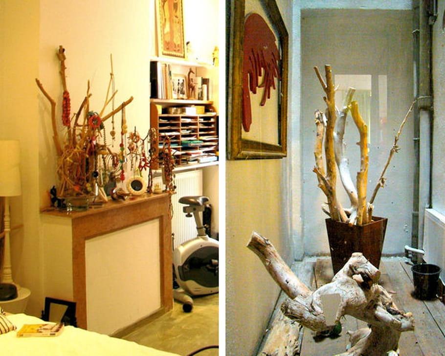 un arbre bijoux en bois flott. Black Bedroom Furniture Sets. Home Design Ideas