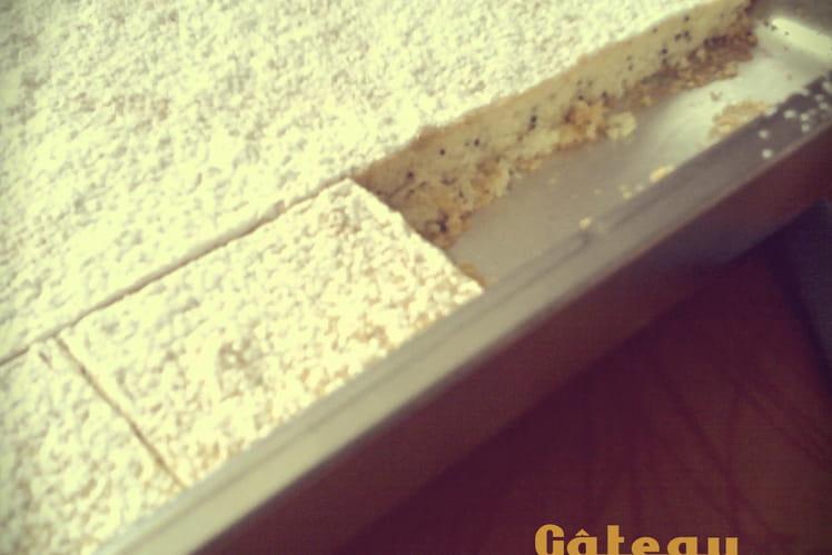 Le gâteau tâches de rousseurs de Jenna