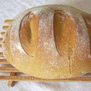 pain de campagne en cocote (à la machine à pain)
