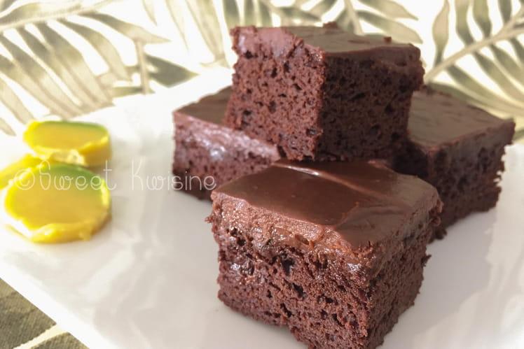 Brownie au chocolat et à l'avocat