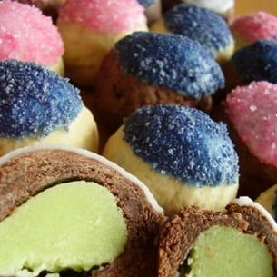 bonbons sablés aux amandes