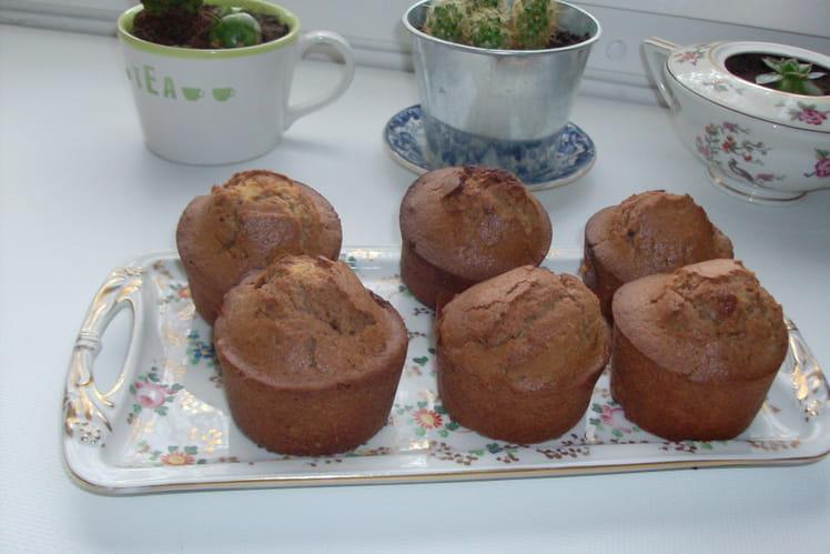 Muffins à la marmelade d'oranges