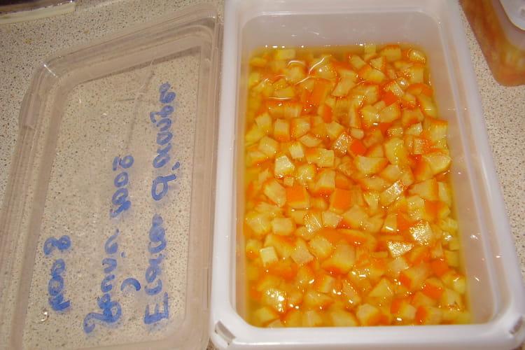 Zestes d 'oranges confits
