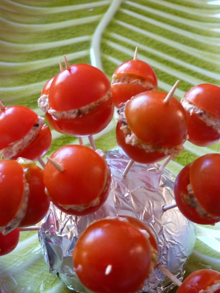Recette de sucettes tomate fraicheur la recette facile - Recette fraiche pour l ete ...