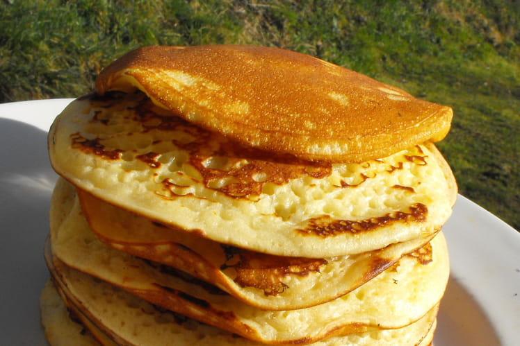 Recette De Pancakes Pour Petit Dejeuner La Recette Facile