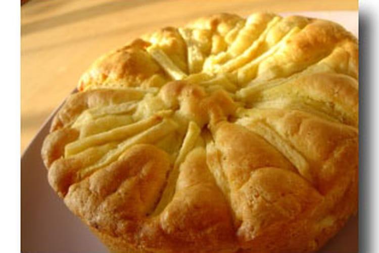 Cake aux pommes savoureux
