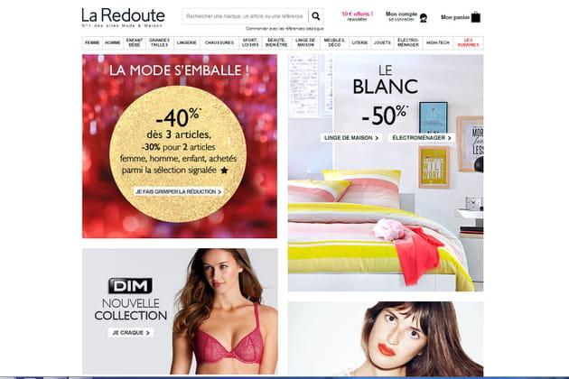 Le e-shop de La Redoute