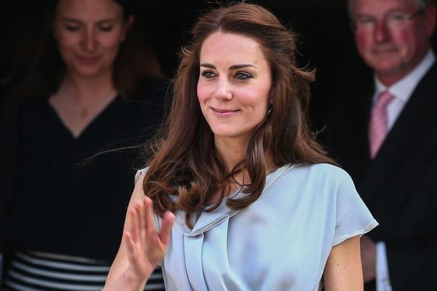 Kate Middleton: la demi-queue