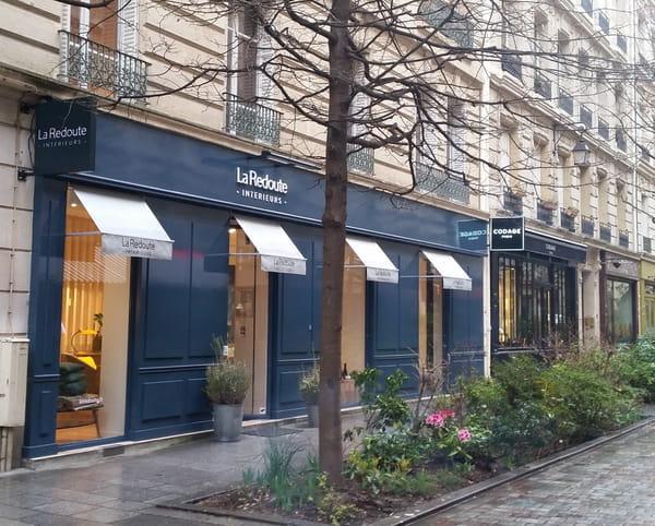 La redoute int rieurs ouvre sa premi re boutique for Boutique meuble paris