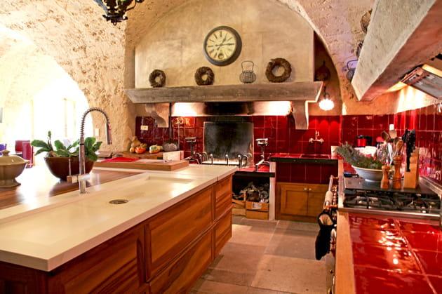 Une cuisine provençale esprit campagne