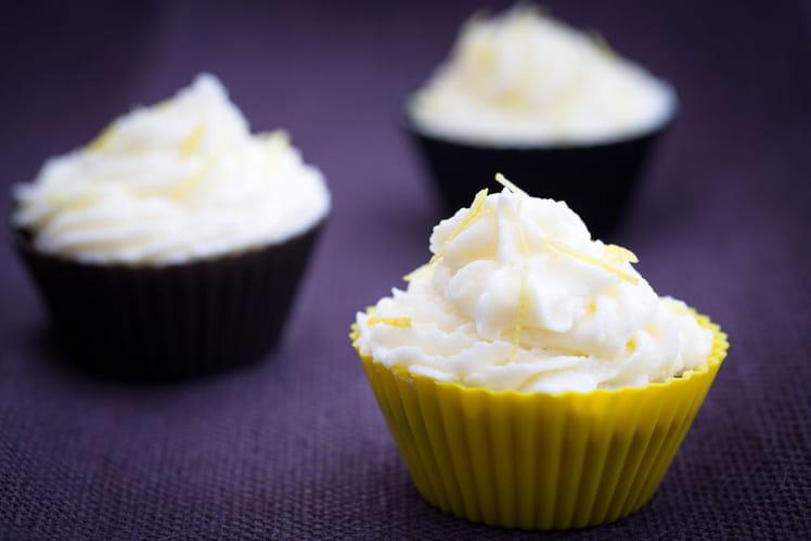Cupcakes au citron et glaçage maison