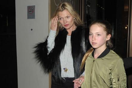 Kate Moss et Lila Grace