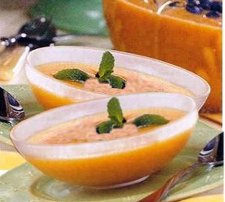 Recette entr e fra che au melon la recette facile for Idee entree ete facile