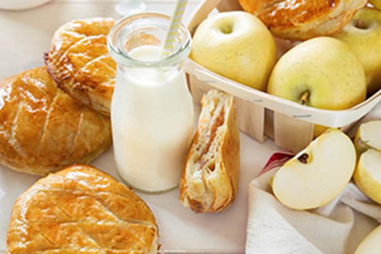 Galette des rois pommes-praliné