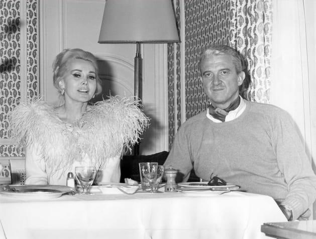 En 1966avec son 5è mari, Joshua S. Cosden, Jr.