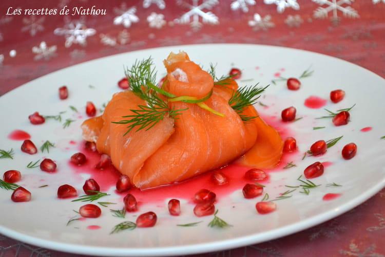 Recette aum ni res de saumon fum la mangue et kiwi for Une entree facile