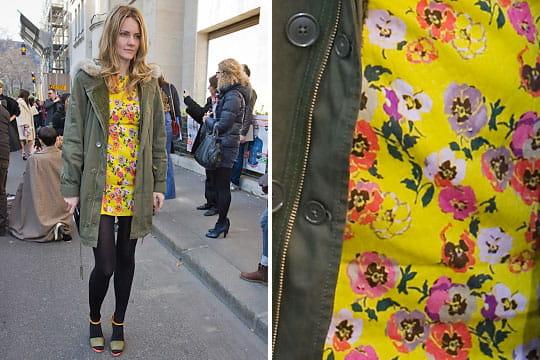 Fashion week : les street looks des défilés parisiens PAP automne-hiver 2011-2012 59