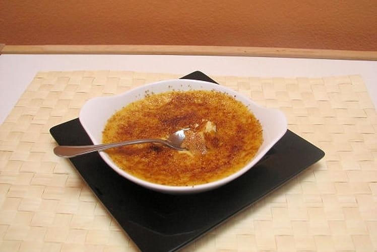 Crème brûlée croustillante