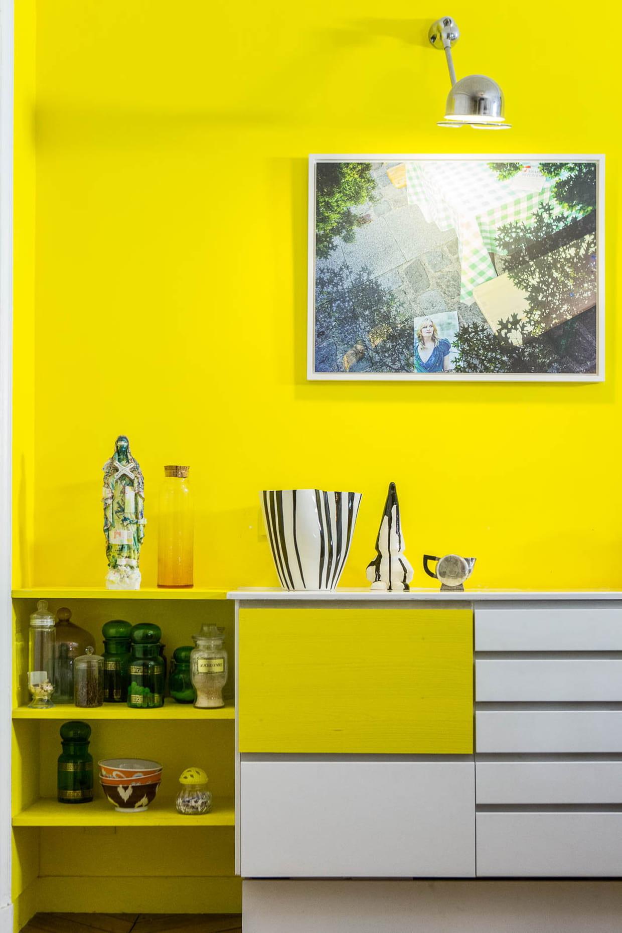 De la peinture jaune au mur - Deco journal des femmes ...