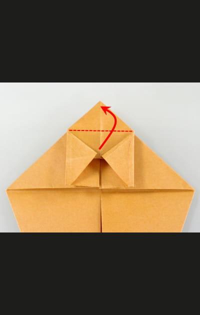 Origami chat - Etape 10