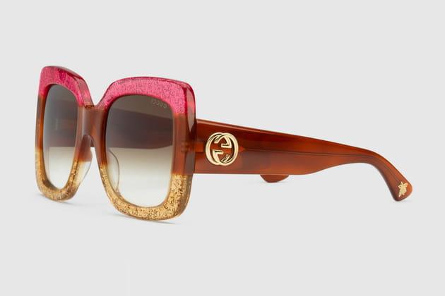 Lunettes de soleil glitters de Gucci