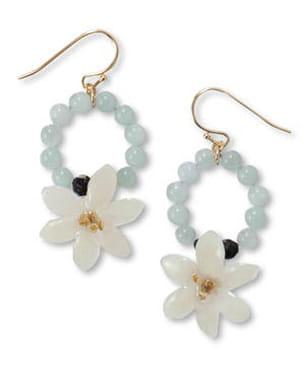 boucles d'oreille cherry blossom chez coincidence