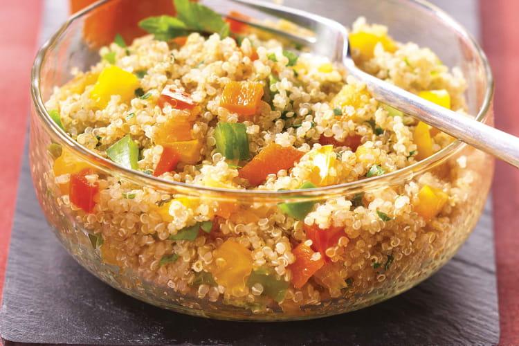 Taboulé de quinoa aux poivrons