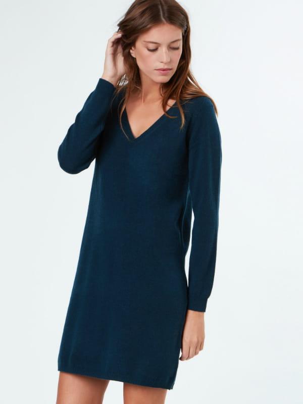 robe pull etam cachemire