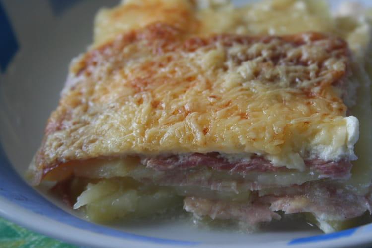 Lasagnes de pommes de terre