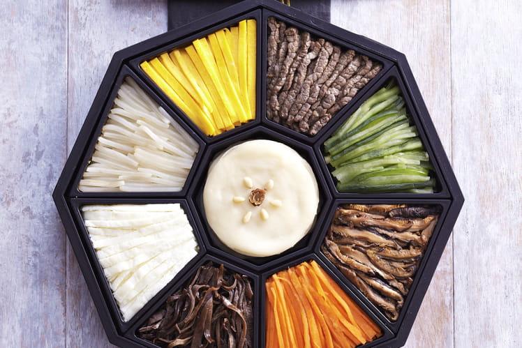 Gujeolpan - Assiette de 9 délices