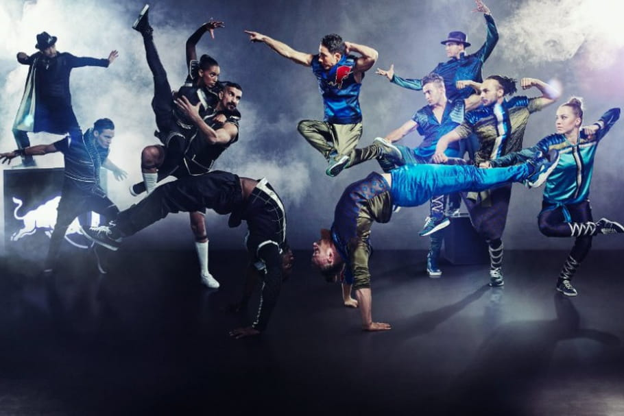 Red Bull Flying Illusion : quand le breakdance rencontre l'illusion