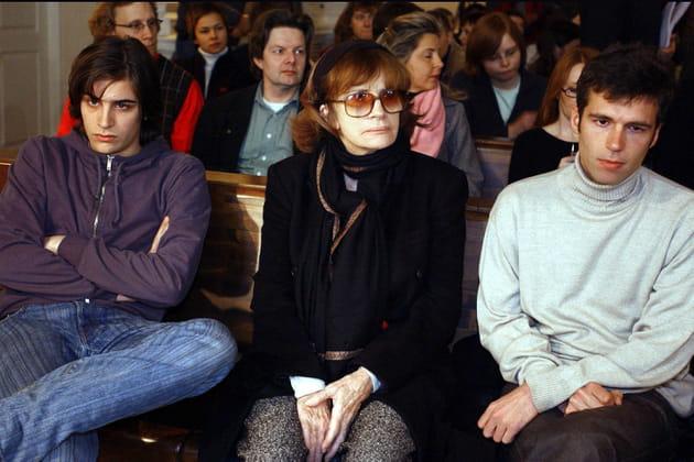 La famille de Marie Trintignant