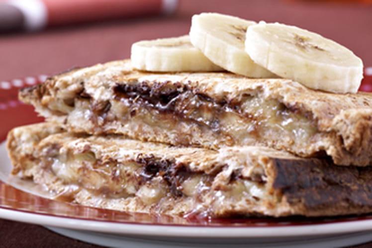 Croque banane-choco