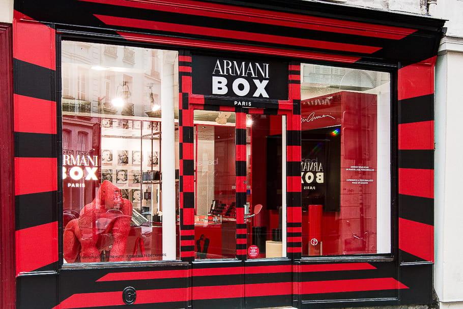 Giorgio Armani Beauty ouvre sa boutique éphémère à Paris